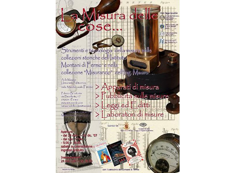 La misura delle cose: antichi strumenti di misura in esposizione